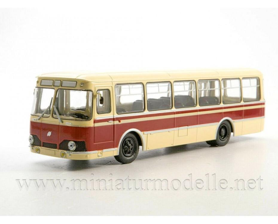 1:43 LIAZ 677 Bus with magazine #28,  Modimio Collections by www.miniaturmodelle.net