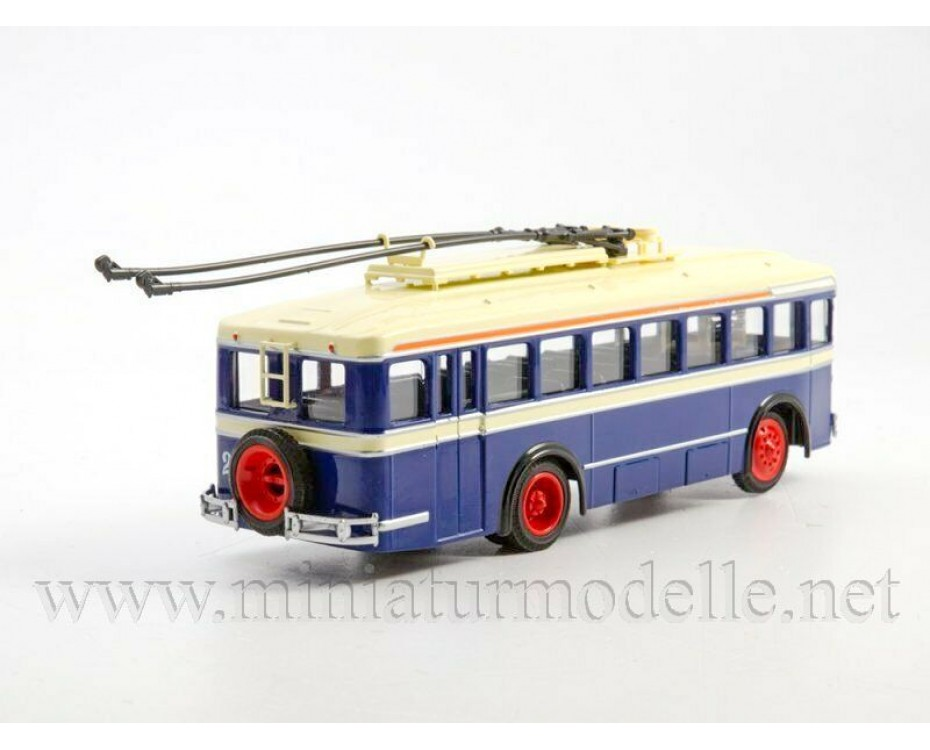 1:43 LK 1 Trolleybus with magazine #24,  Modimio Collections by www.miniaturmodelle.net