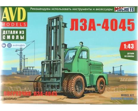1:43 LZA 4045 Forklift, small batches model kit