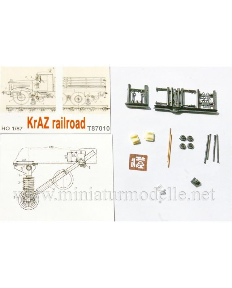 1:87 H0 KRAZ railroad conversion set, small batches model