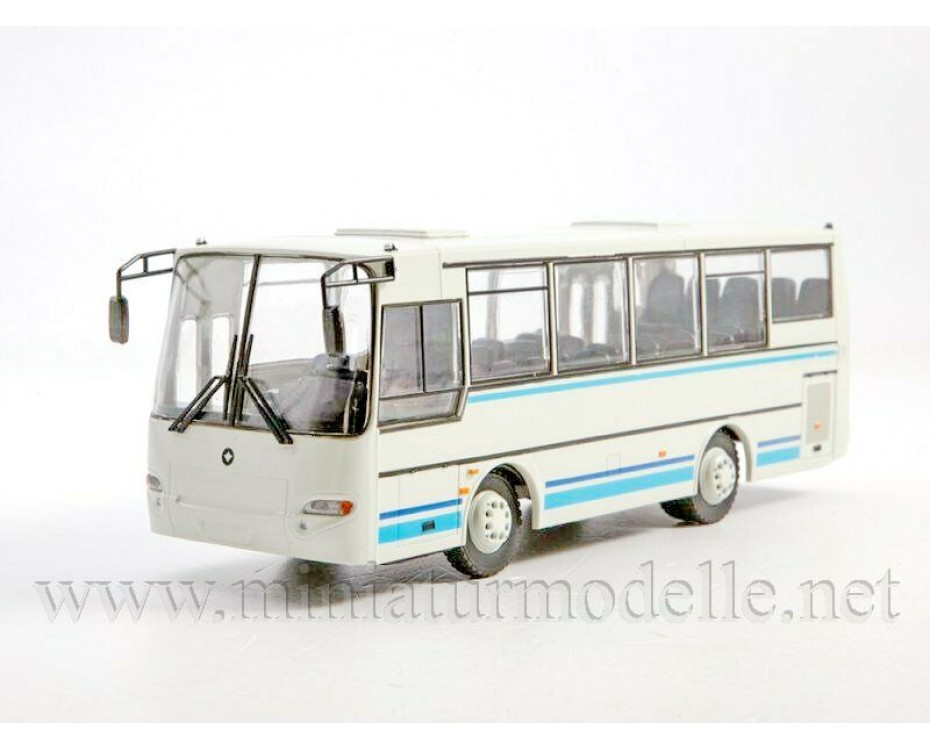 1:43 PAZ 4230 Avrora Bus with magazine #26,  Modimio Collections by www.miniaturmodelle.net