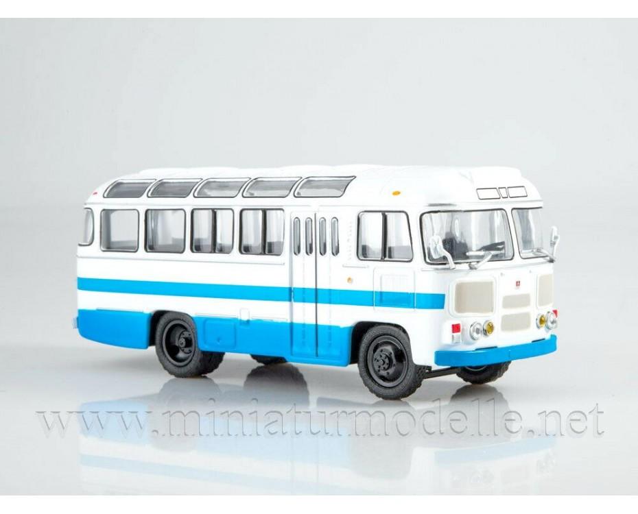 1:43 PAZ 672 M bus with magazine #7