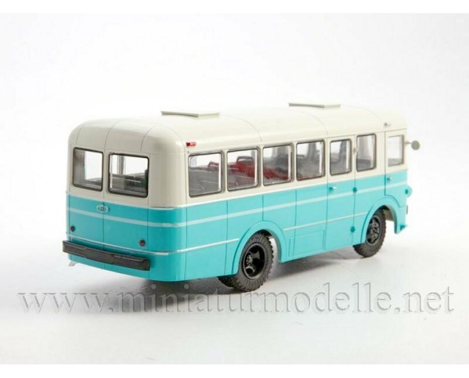 1:43 RAF 976 bus with magazine #22,  Modimio Collections by www.miniaturmodelle.net