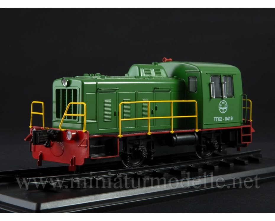1:43 TGK 2 Diesel locomotive, dummy, small batches model, 0113MP, ModelPro by www.miniaturmodelle.net