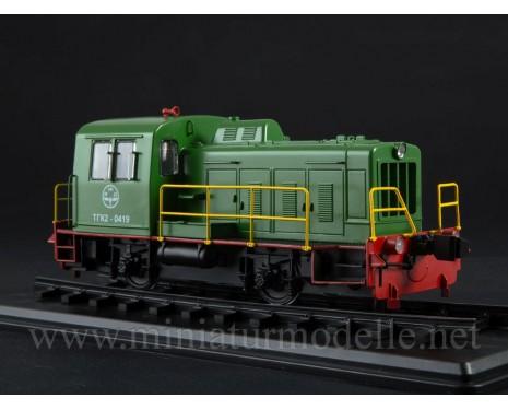 1:43 TGK 2 Diesel locomotive, dummy, small batches model