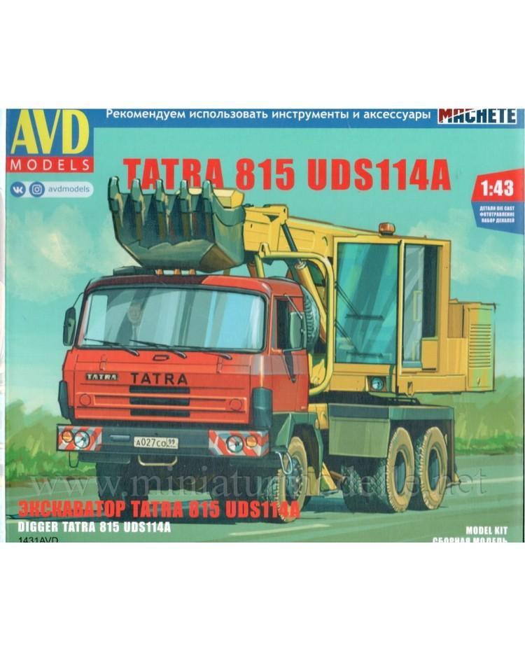 1:43 Tatra 815 digger UDS114A, kit