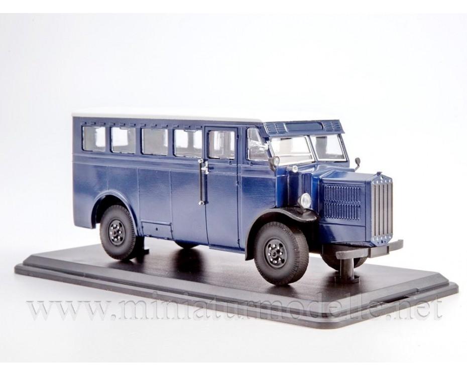1:43 Tatra T27 Bus, small batches model, 0153MP, ModelPro by www.miniaturmodelle.net