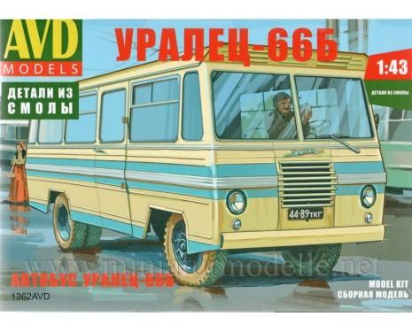 1:43 Uralez 66 B Bus, Bausatz