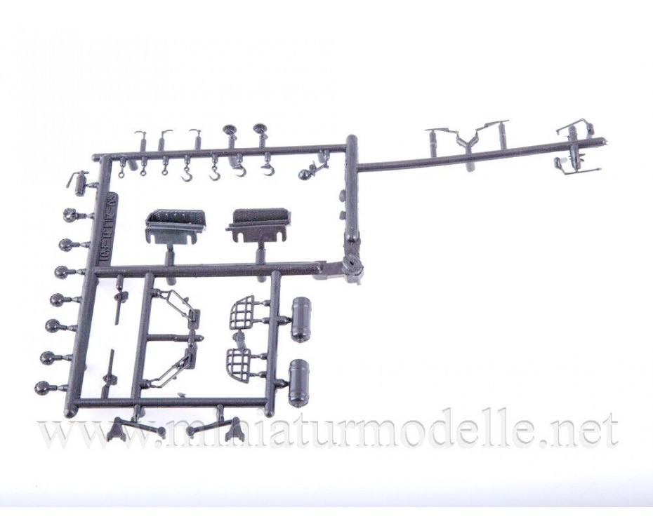 1:43 ZIL 131 mobile power generator APA-50M, small batches kit, 1424AVD, AVD Models by www.miniaturmodelle.net