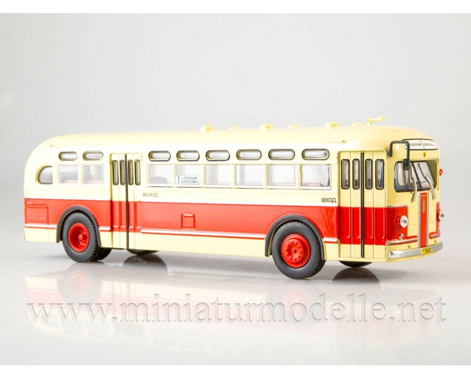1:43 ZIS 154 bus with magazine #5