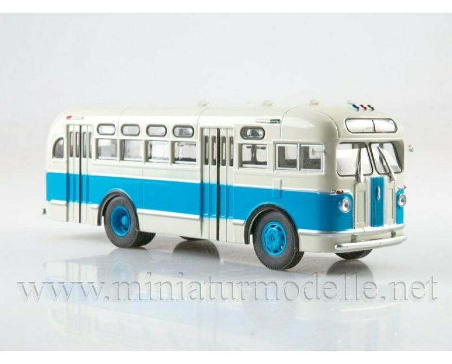 1:43 ZIS 155 bus with magazine #19,  Modimio Collections by www.miniaturmodelle.net