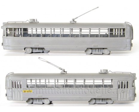 1:87 H0 RVZ 6 Tram, small batches model kit