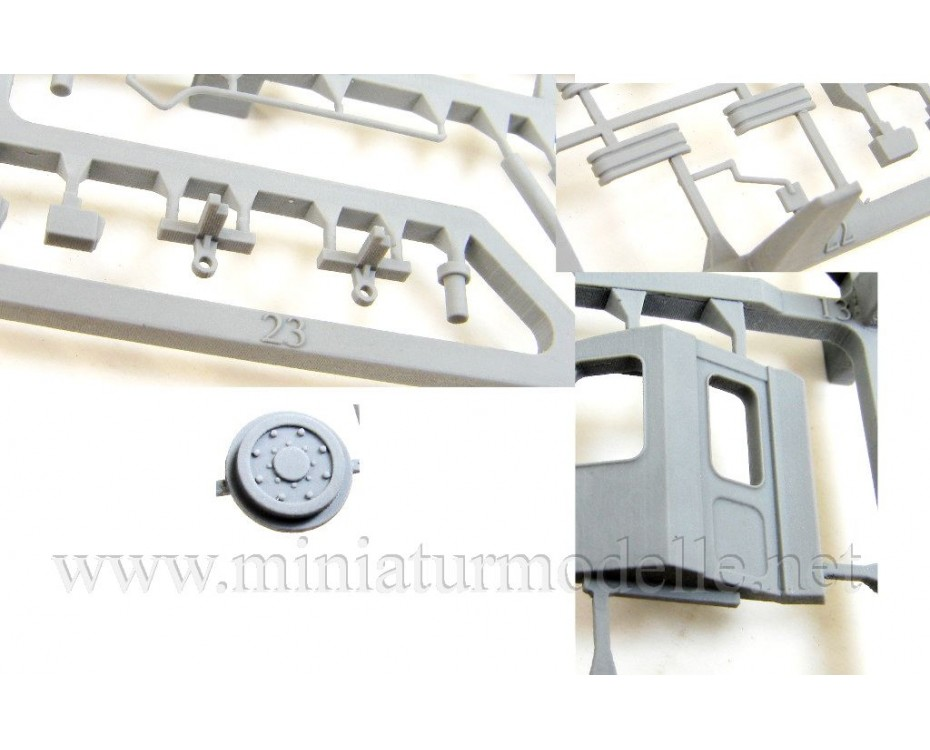 1:87 H0 RVZ 6 Tram, small batches model kit