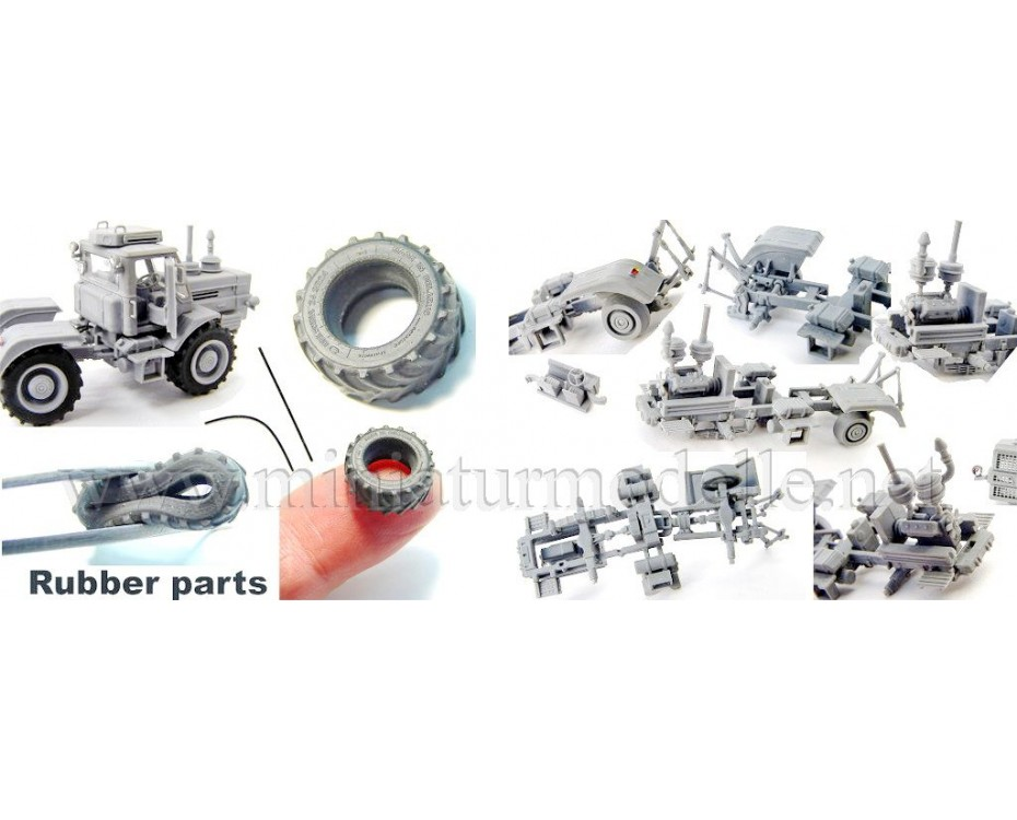 1:87 H0 T-150 Tractor, small batches model kit