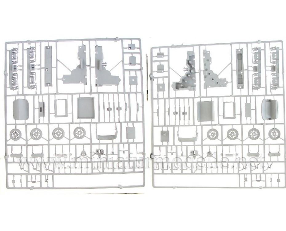 1:87 H0 ChS6 Twin-unit electric locomotive dummy kit, SZD, 4-5 era, small batches model