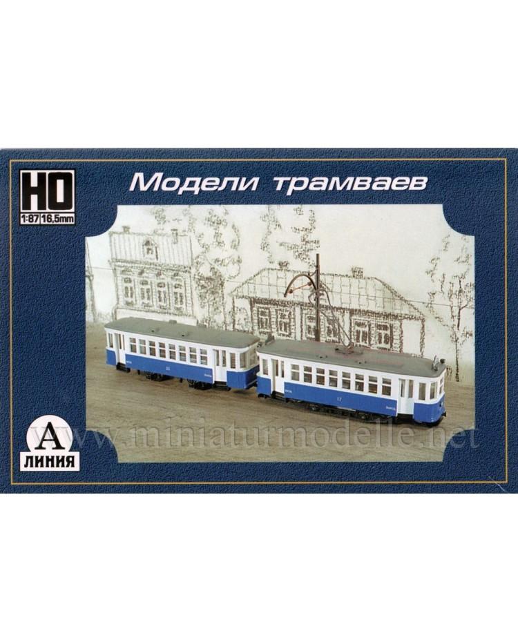 1:87 H0 H / M Strassenbahn, Bausatz
