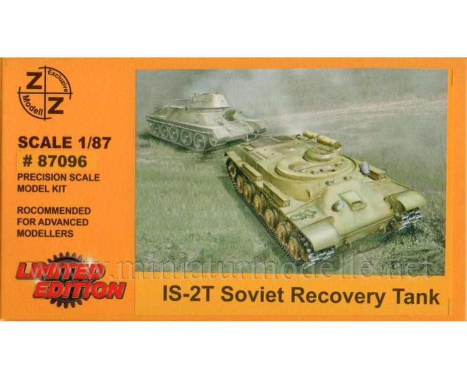 H0 1:87 IS 2T Sowjetische Bergepanzer