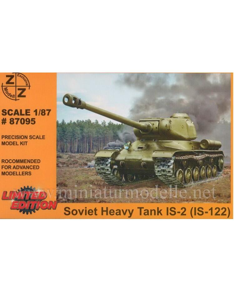 H0 1:87 IS-2 sowjetisches Kampfpanzer Stalinpanzer (IS-122), Militär, Kleinserien
