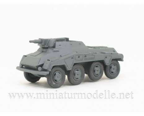 H0 1:87 Sd.Kfz. 234/3 8-Rad 7.5cm KwK, Schwere Panzerspähwagen Militär, Kleinserie