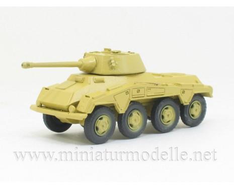H0 1:87 Sd.Kfz. 234/2 8-Rad 5cm KwK 39/1 L/60, Schwere Panzerspähwagen Puma Militär beige, Kleinserie