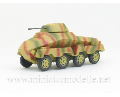 H0 1:87 Sd.Kfz. 231 8-Rad 2cm KwK gun armored car, camouflage military, small batches model