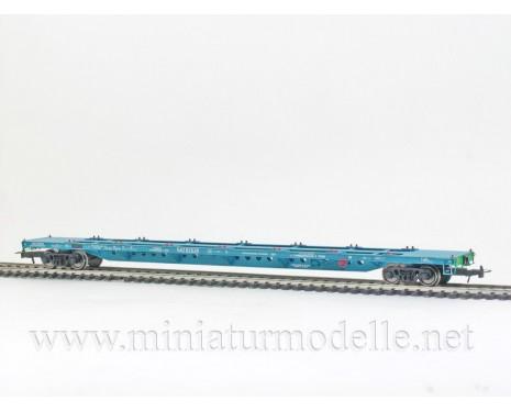 1:87 H0 Container car mod. 13-1281-01, blue, RZD, 5. era. small batches model