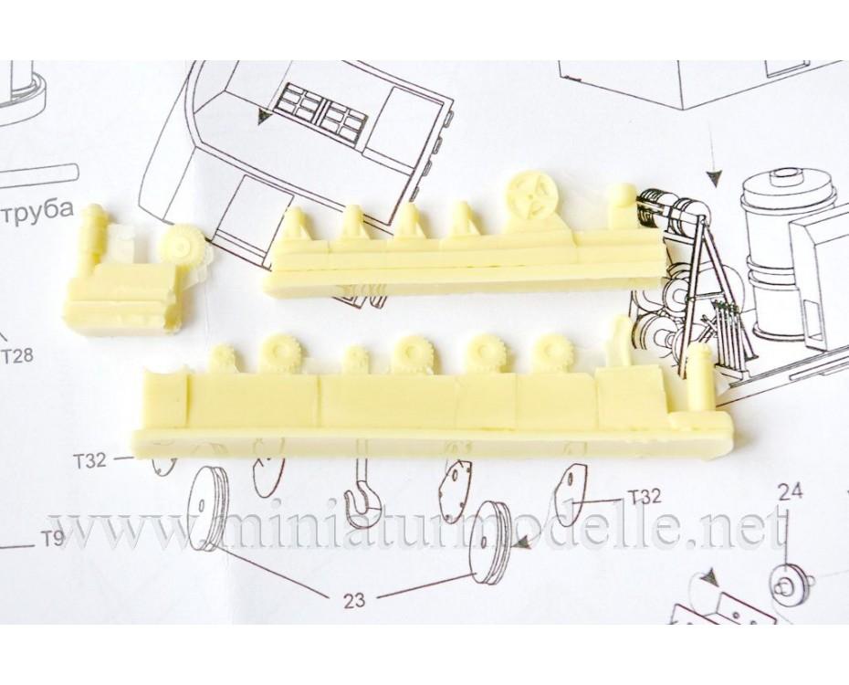 1:87 H0 Railway crane PK 6, small batches model