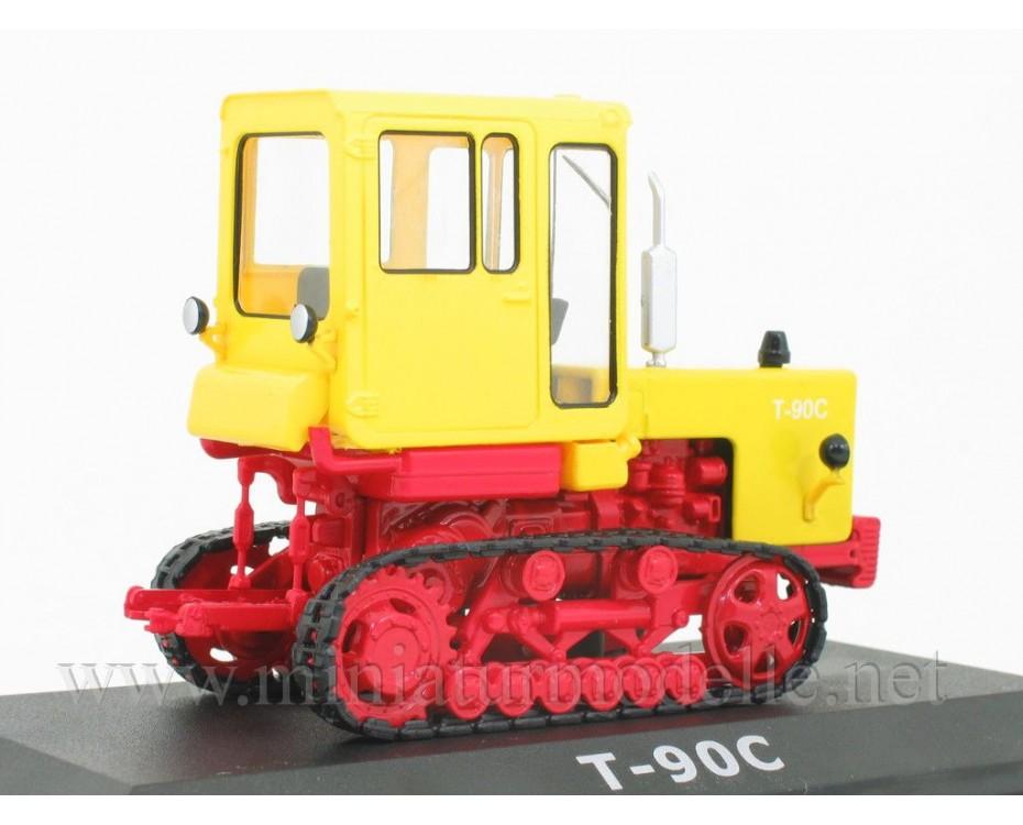 1:43 Kettentraktor T 90 S mit Zeitschrift #62