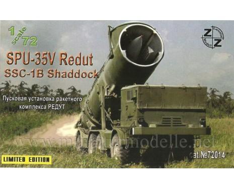 1:72 SPU-35V Redut SSC-1B Shaddock Raketenwerfer, Militär, Kleinserie