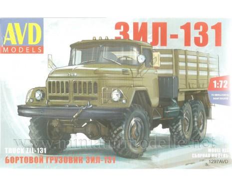 1:72 ZIL 131 Pritsche militär, kit