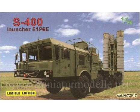 1:72 S 400 Rakettenwerfer 51P6E, military, Kleinserie