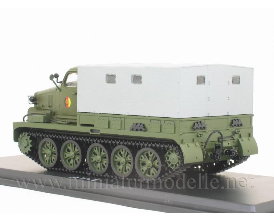 1:43 AT-T Artilleriezugmittel - schwer Pritsche Plane, NVA Militär