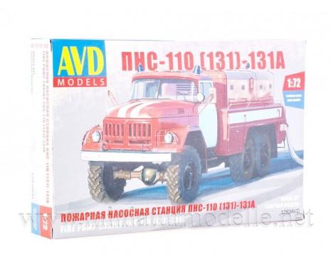 1:72 ZIL 131 Löschfahrzeuge PNS 110 FW Feuerwehr kit