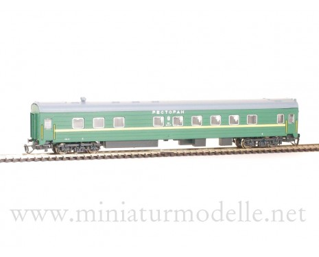 1:120 TT 2210 Restaurant car of the SZD livery, era 4