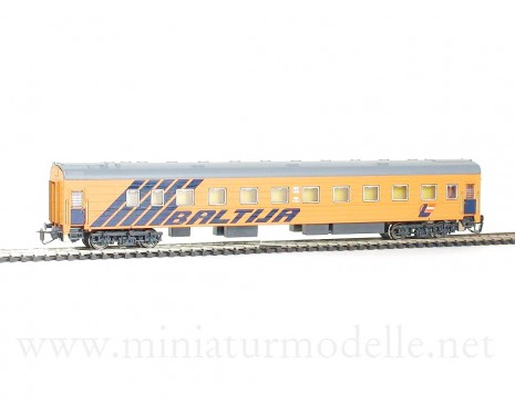 1:120 TT 2050 Long-distance sleeping car type Ammendorf of the Baltija LDZ livery, era 5