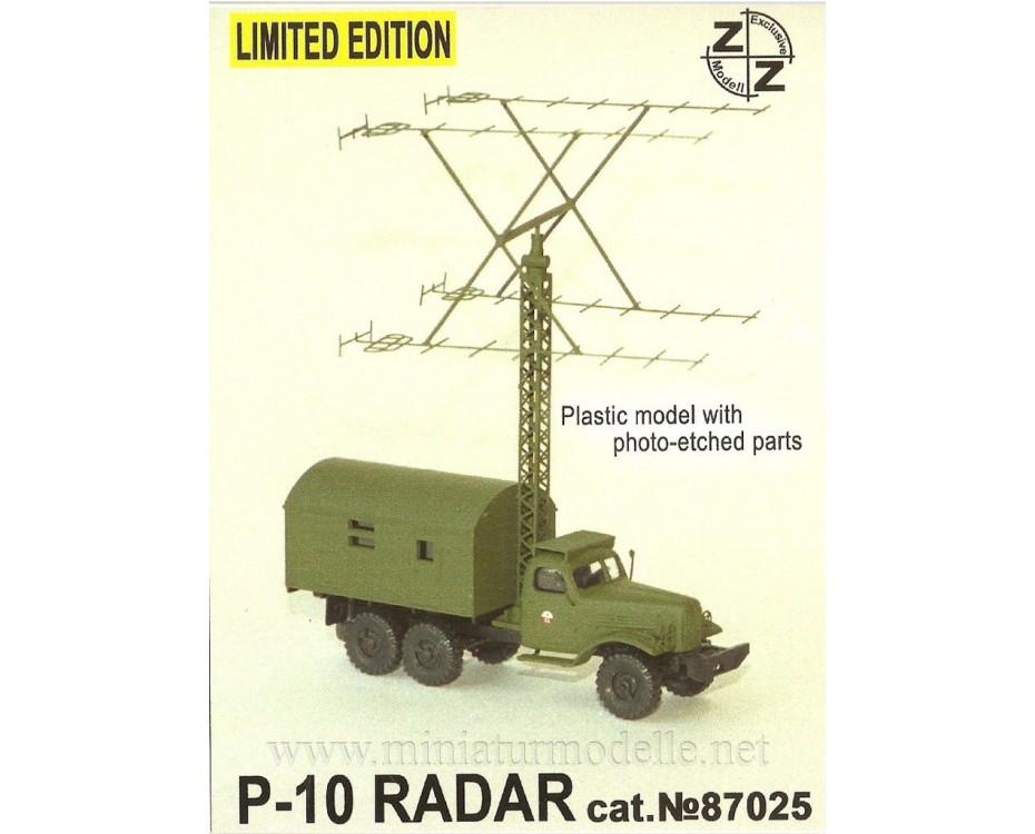 H0 1:87 ZIL 157 mit Radar P-10, Militär, Kleinserien