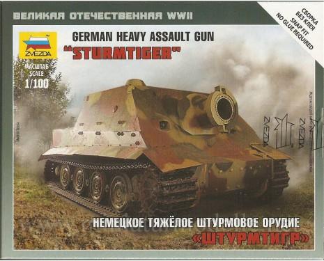 1:100 Sturmtiger german heavy assault gun