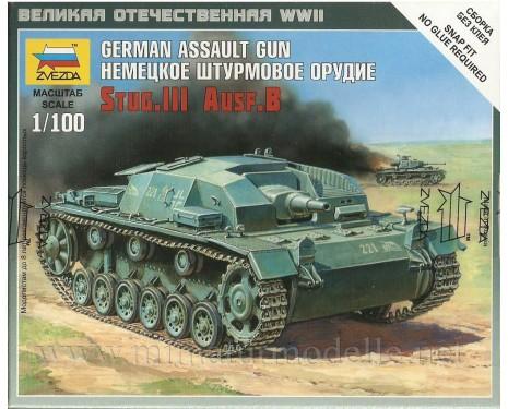 1:100 Stug.III Ausf.B Wehmacht Sturmgeschütz