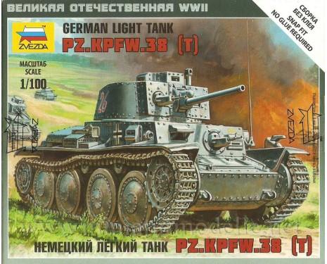 1:100 Pz.Kpfw.38 T Wehmacht Panzerkampfwagen