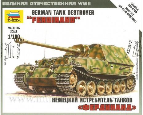 1:100 Ferdinand german tank destroyer