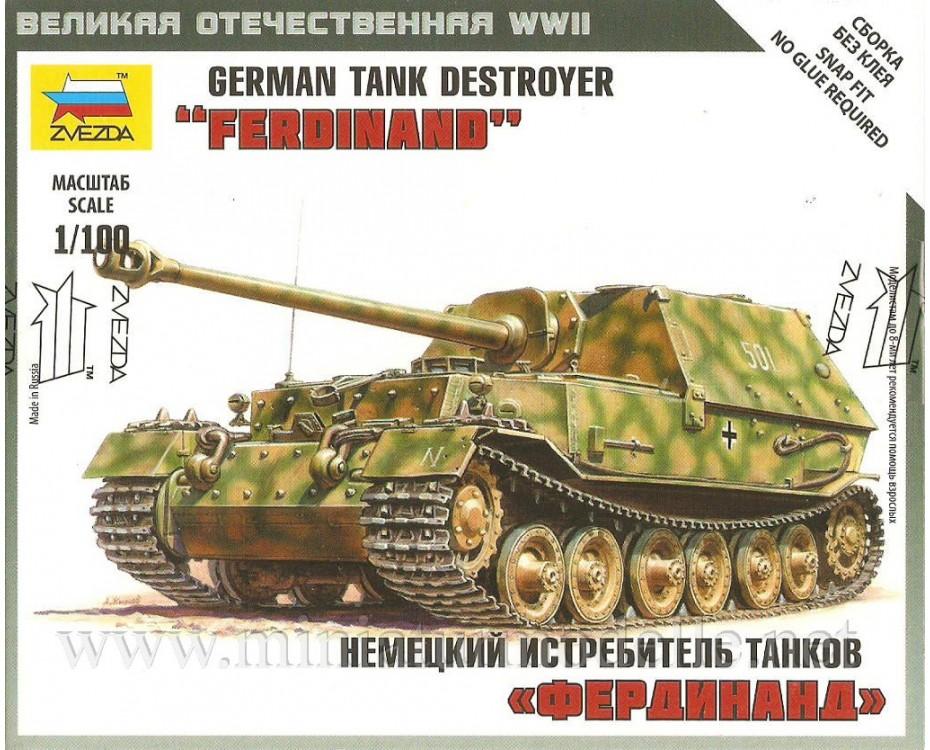 1:100 Ferdinand Wehmacht Jagdpanzer