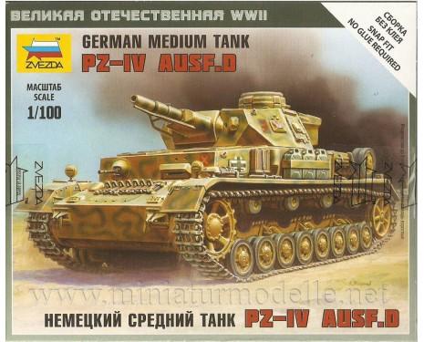 1:100 Pz. IV Wehmacht Panzerkampfwagen