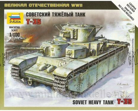 1:100 T 35 sowjetischer schwerer Panzer