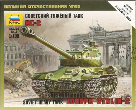 1:100 IS 2 sowjetischer schwerer Panzer