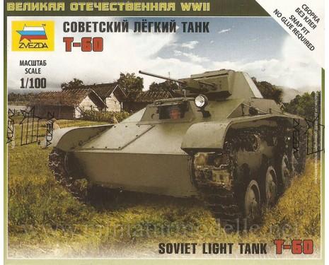 1:100 T 60 sowjetischer leichter Panzer
