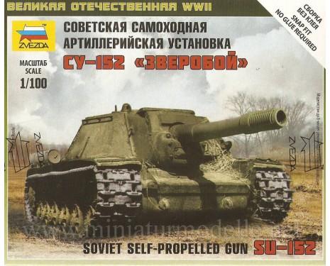 1:100 SU 152 sowjetischer schwerer Jagdpanzer