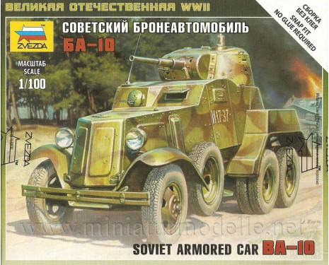 1:100 BA 10 soviet armored car