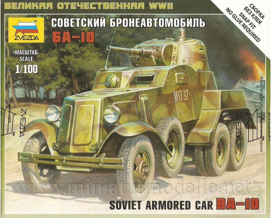 1:100 BA 10 sowjetisches Aufklärungsfahrzeug