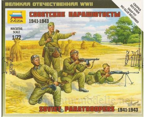 1:72 Sowjetische Fallschirmjäger 1941-43