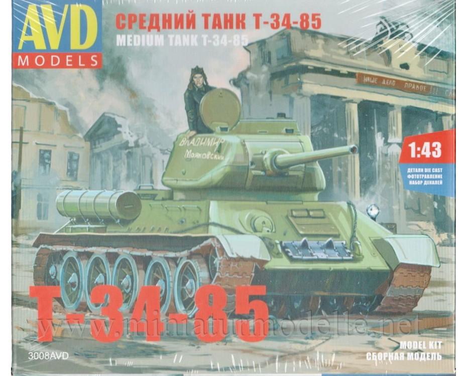 1:43 T 34 Panzer, Militär, Bausatze